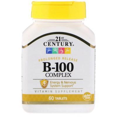 Комплекс В-100, 21st Century, 60 таблеток
