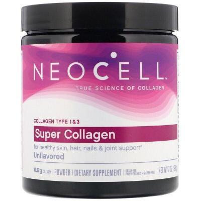 Супер Коллаген, Тип 1 и 3, Collagen, Neocell, 6000 мг, 198 г