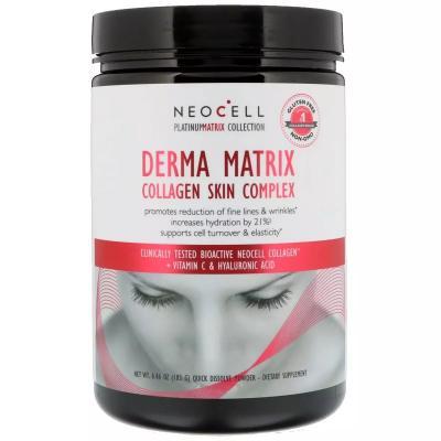 Коллаген для кожи (комплекс), Collagen Derma Matrix, Neocell, 183 г