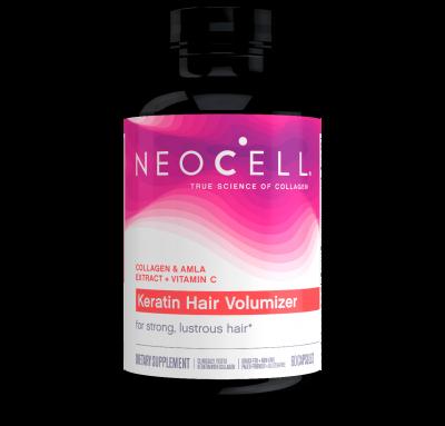 Кератиновые комплекс для волос, NeoCell, 60 капсул
