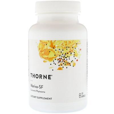 Куркумин, Meriva-SF, Thorne Research, 120 капсул