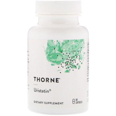 Фитоэстрогены при менопаузе (уристатин), Uristatin, Thorne Research, 60 капсул