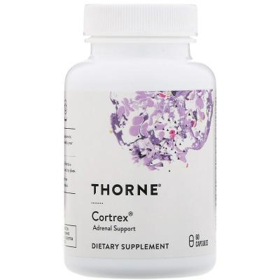 Кортрекс, Cortrex, Thorne Research, 60 капсул